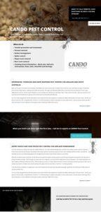 content writing for Cando website